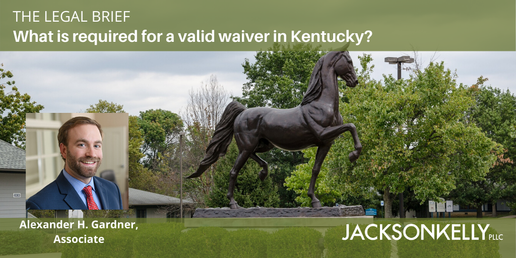 KY Waiver